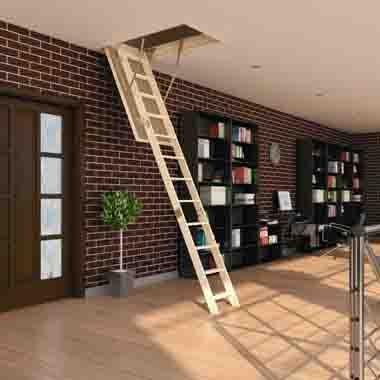 Лестницы для выхода на чердак
