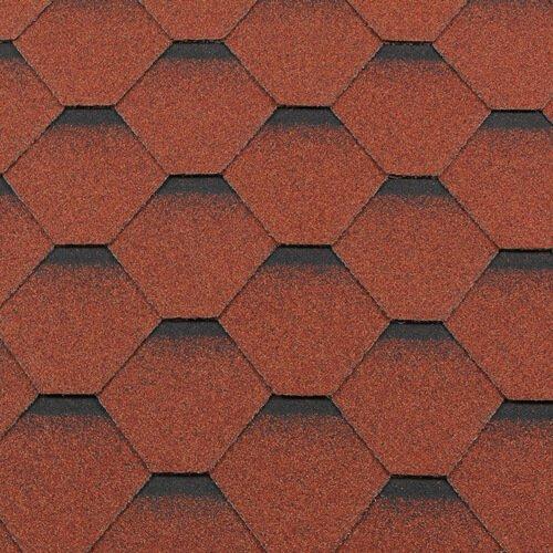 Roofshield №11: Кирпично-красный с оттенением