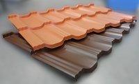 Какая металлочерепица лучше: красная или коричневая?