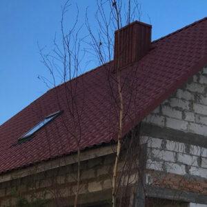 Металлочерепица Opal на крыше