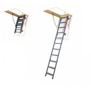 металлические чердачные лестницы fakro