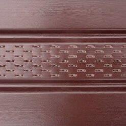 Софит ASKO с перфорацией коричневый