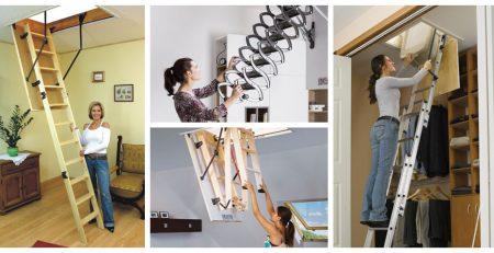 Выбор чердачных лестниц
